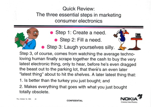 Three Essential Steps in Marketing Consumer Electronics